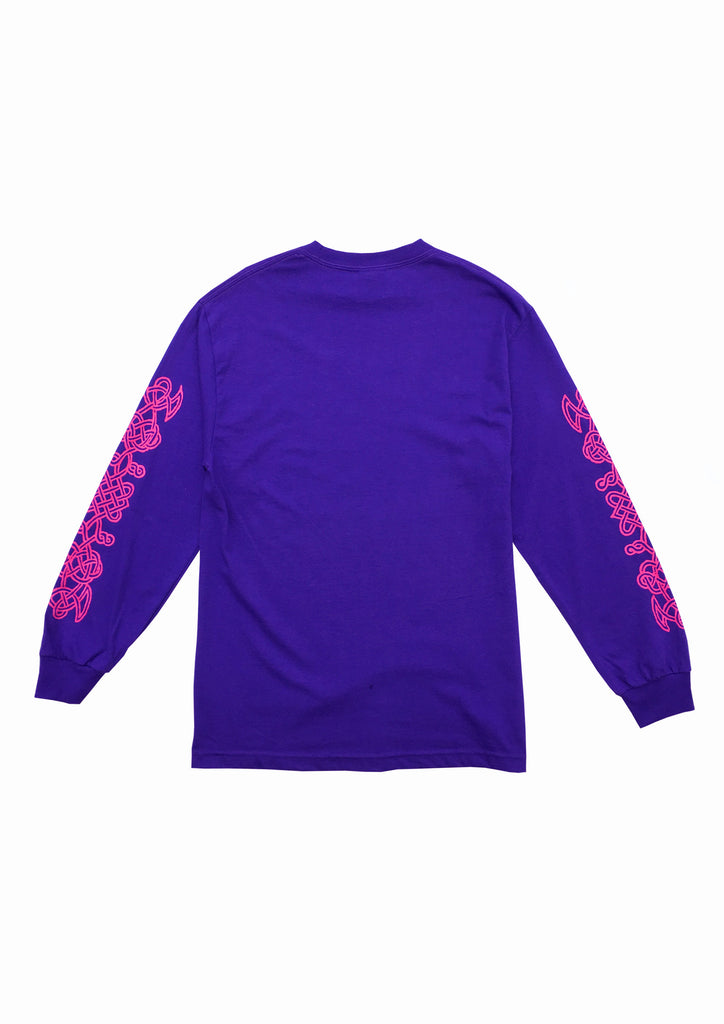 TANTRA LS TEE - PURPLE