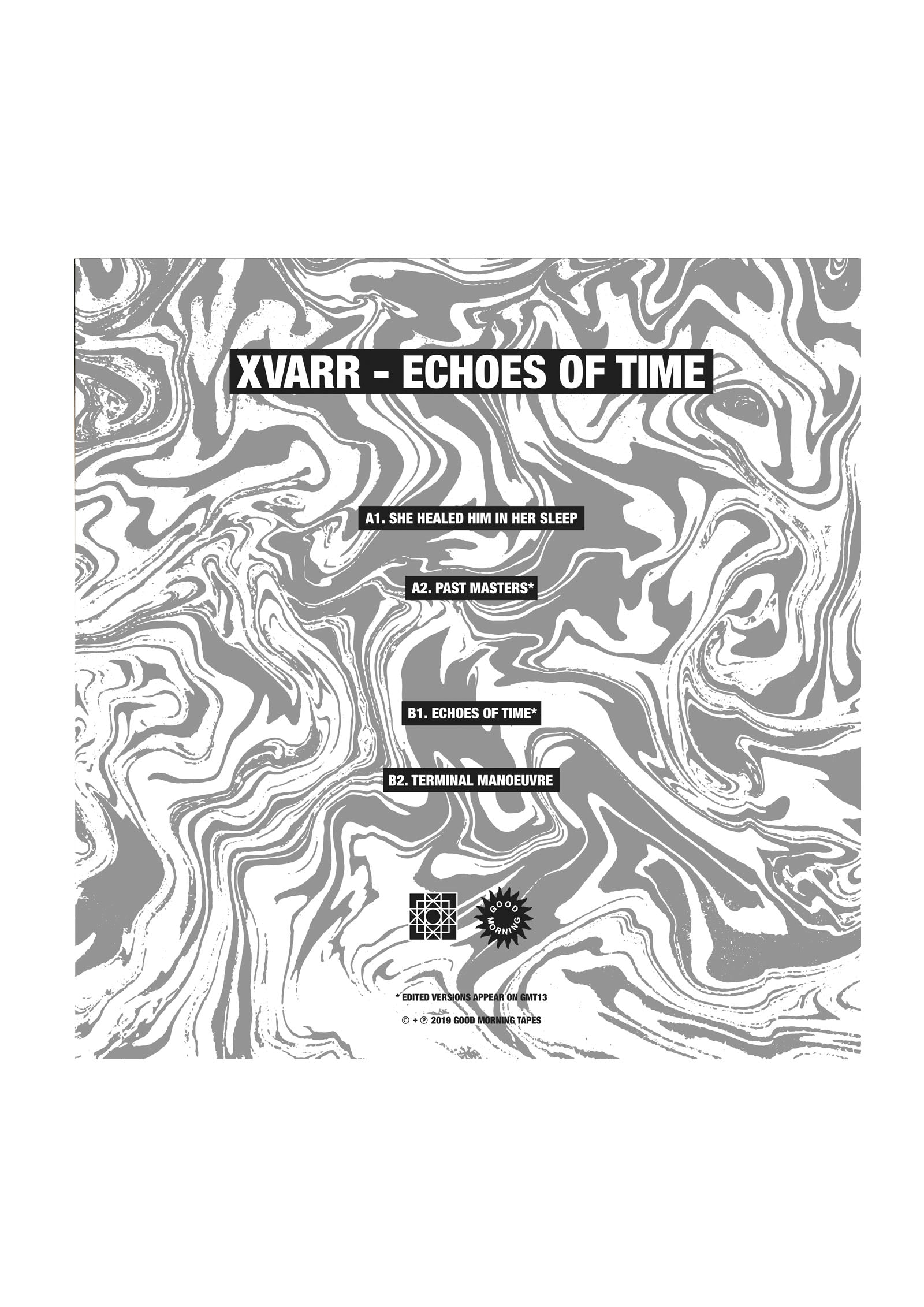 GMV02 XVARR - ECHOES OF TIME 12""