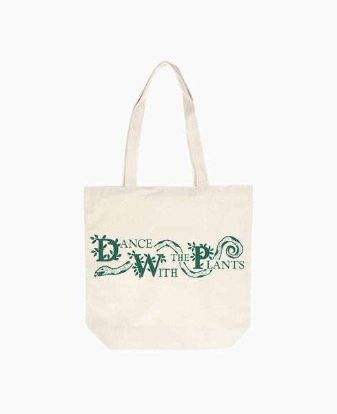 Dance with the Plants Totebag - Natural