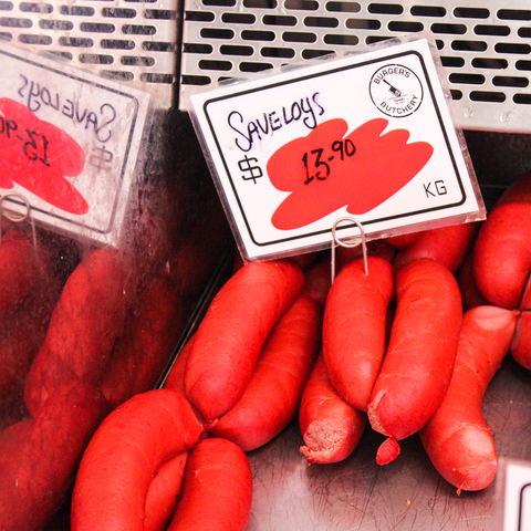 Saveloy Sausages