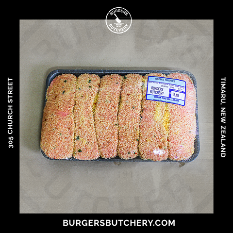 Crumbed Beef Sausages