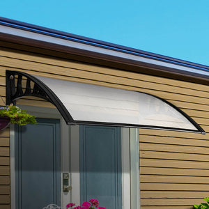 Outdoor DIY Door Window Awning French Style Cafe Canopy Sun Shield Rain Cover 1 x 1.2m