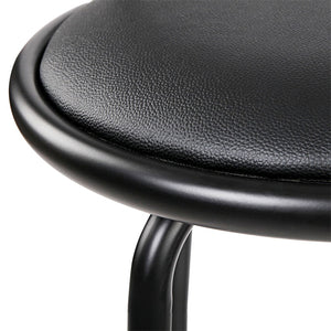 z 2x PU Leather Bar Stool Set Kitchen Swivel Chair Seating Home Office Cafe