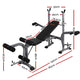 Multi Station Steel Weight Bench Press Fitness Equipment Incline Black - Afterpay - Zip Pay - Free Shipping - Dodosales -