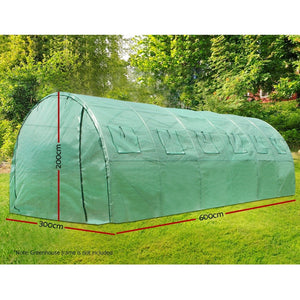 Walk In Replacement Greenhouse PE Cover Green House - Cover Only - Afterpay - Zip Pay - Free Shipping - Dodosales -
