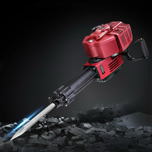 1900W Jackhammer Petrol Jack Hammer Demolition Breaker Concrete 52CC - Afterpay - Zip Pay - Free Shipping - Dodosales -