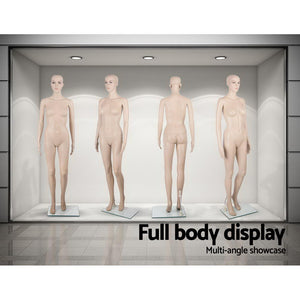 Full Body Mannequin Shop Stall Retailer Manequin Dressmaking Clothes Display Female