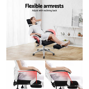 Gaming Chair Office Seat Computer Mesh Armchair Home Study Work Breathable
