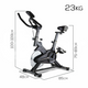Spin Exercise Bike Cycling Flywheel Fitness Commercial Home Workout Gym Grey - Afterpay - Zip Pay - Free Shipping - Dodosales -