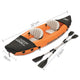 Inflatable Hydro Force Kayak Canoe Water Raft 2 Person Aluminium Oar - Afterpay - Zip Pay - Free Shipping - Dodosales -
