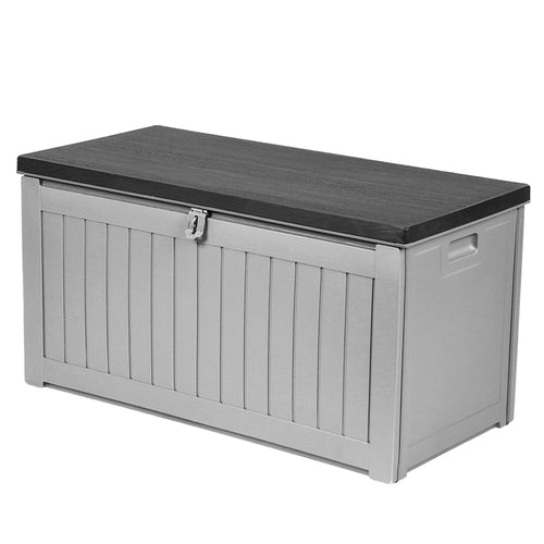 190L Outdoor Storage Box Bench Seat Toy Tool Shed Chest NEW - Afterpay - Zip Pay - Free Shipping - Dodosales -