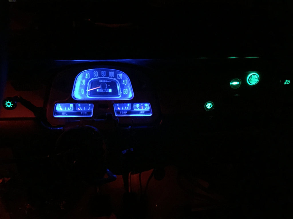 FJ40 LED DASH