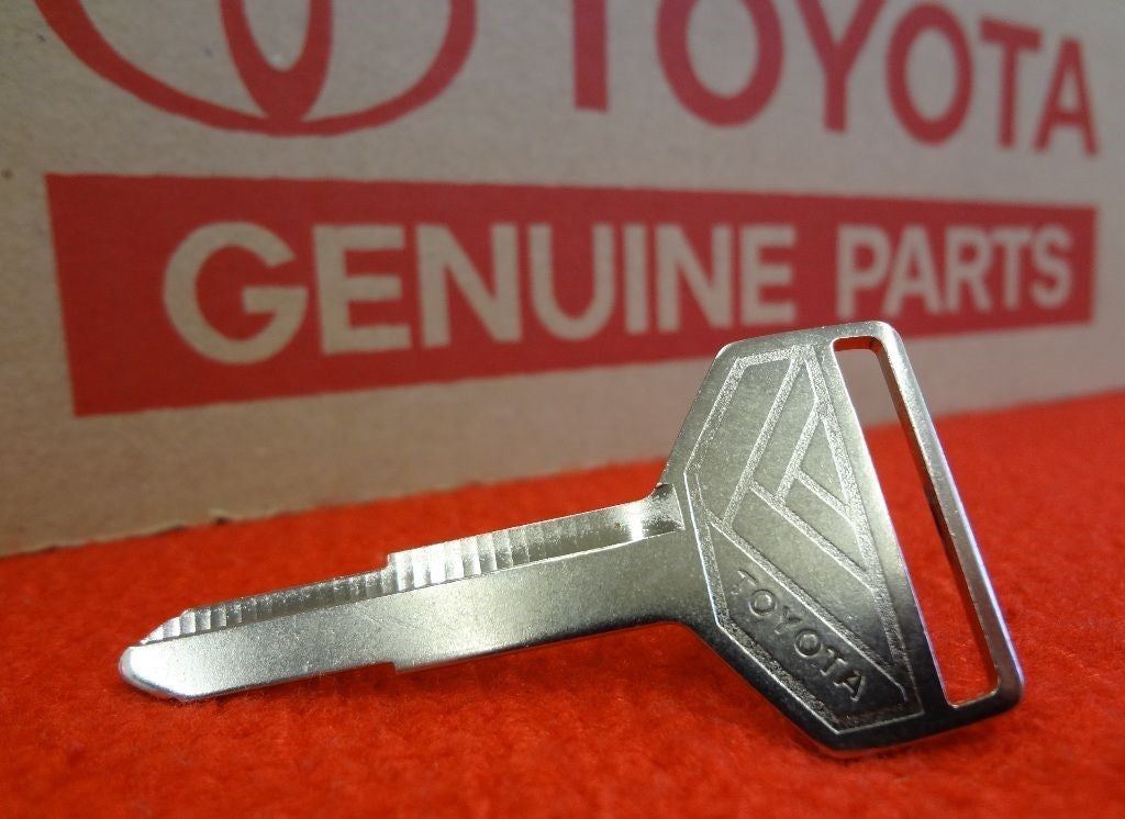 All Metal Silver Top TOYOTA key