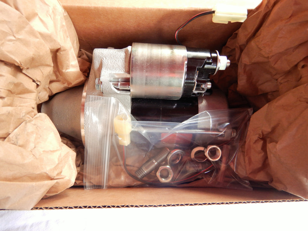 OEM TOYOTA Compact Mini Reduction Starter Motor Kit  w/ Mounting hardware FITS 1963-1987 FJ40, FJ45, FJ55, FJ60   F and 2F engines