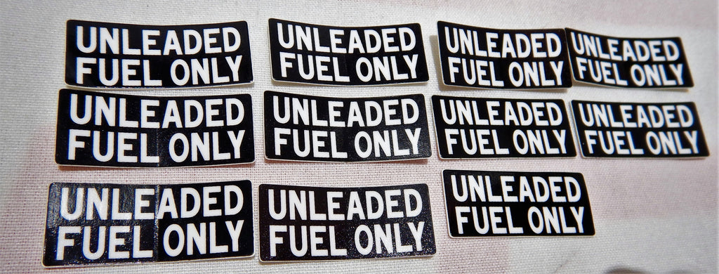 UNLEADED FUEL ONLY DASH Decal Toyota  Label  F 1.5 , 2F , 3FE  , 1FZ-FE FJ40 ,FJ43 ,  FJ45,  FJ55 , FJ60, FJ80
