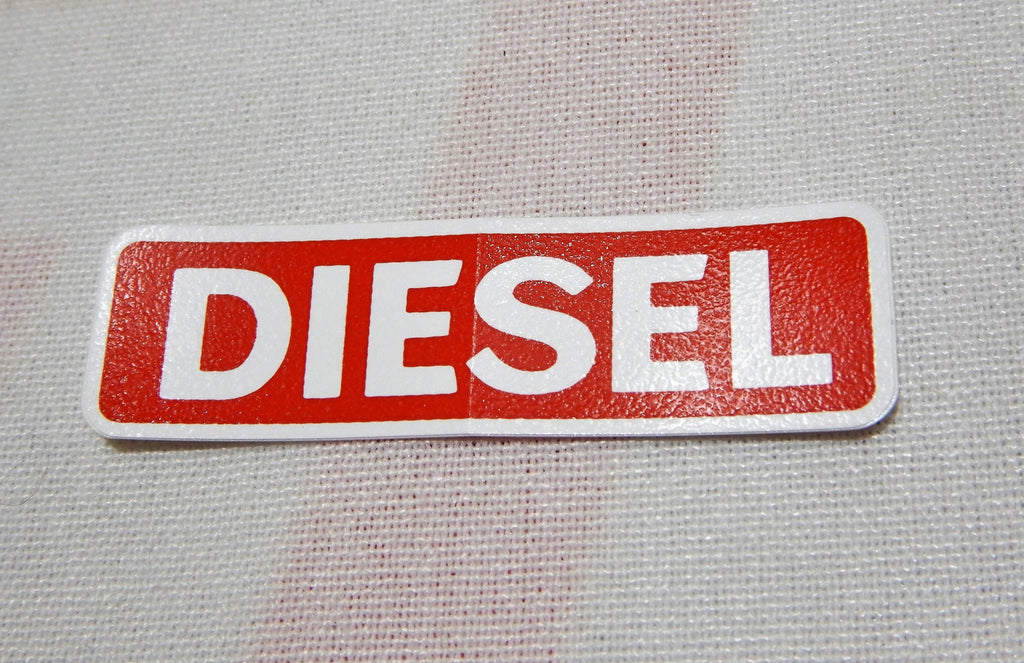Diesel OEM Fuel Door Decal - Genuine Toyota Fuel Caution Plate  Label - JDM BJ40, BJ42 , HJ60 , HJ62 , HJ47 , HJ45 ,