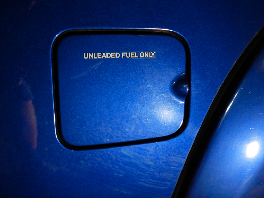 UNLEADED FUEL ONLY GAS DOOR Decal ( Strip)  Toyota  Label  F 1.5 , 2F , 3FE  , 1FZ-FE FJ40 ,FJ43 ,  FJ45,  FJ55 , FJ60, FJ62 , FJ80
