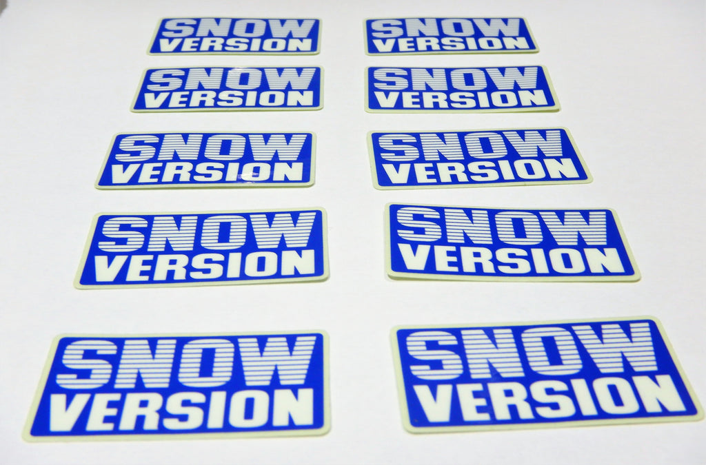NOS OEM TOYOTA SNOW VERSION Decal Toyota  Label  JDM FJ40 , FJ45,  FJ55 BJ40, BJ42 , HJ60 , HJ62 , HJ47 , HJ45 , FJ80   HZJ80  BJ44  BJ46  HJ61  Bj60