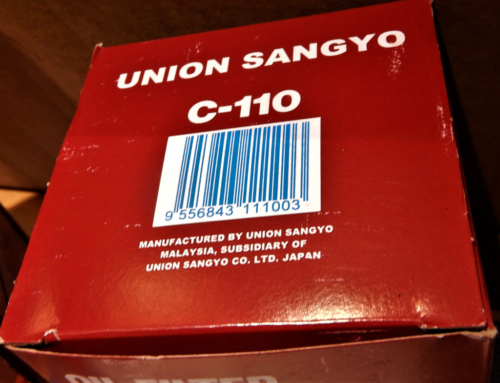 15600-41010  UNION SANGYO OIL Filter  ( Full Size Canister Type )  F, 2F , 3FE , 1FZ-FE   FJ40, FJ60, FJ62, FJ80
