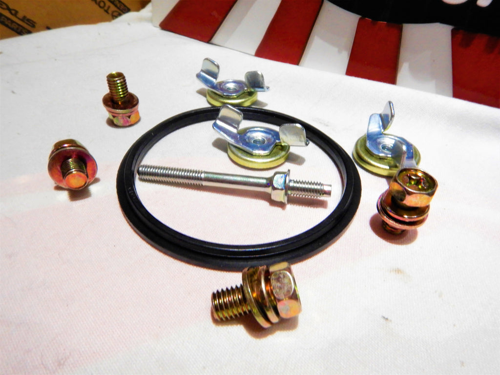 Its Time To Saddle Up Your Unicorn NOW !  TOYOTA Genuine Parts 2F Engine Air Cleaner Box. Air Horn Gasket Seal Yellow Zinc Wing Nut Grommet Seals, Carburetor TOP Screw In Threaded Stud  qty x 4 Air Box Bolts Car Show Dress Up Kit 1/75-9/87 FJ40 FJ55 FJ60