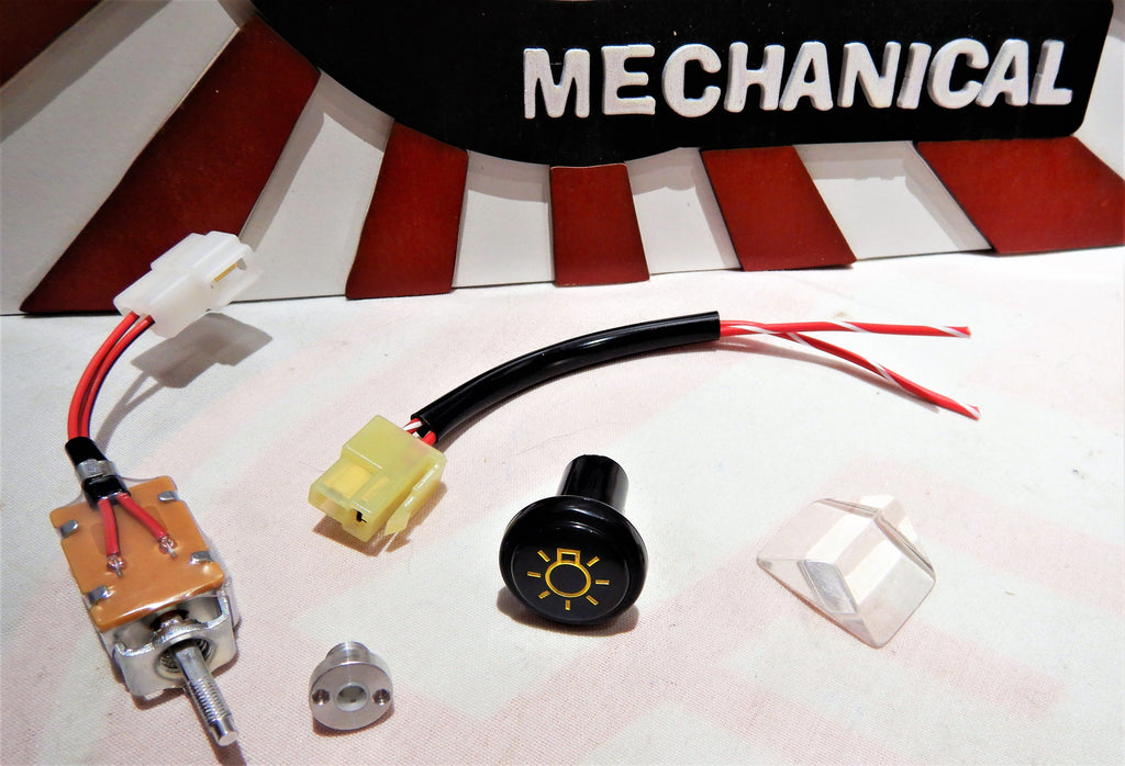 Concept Vision SEMA Inspired  Updated  Late Modle OEM FOG Lamps / Light Switch & Service Spec. Repair Harness Pigtail assy.