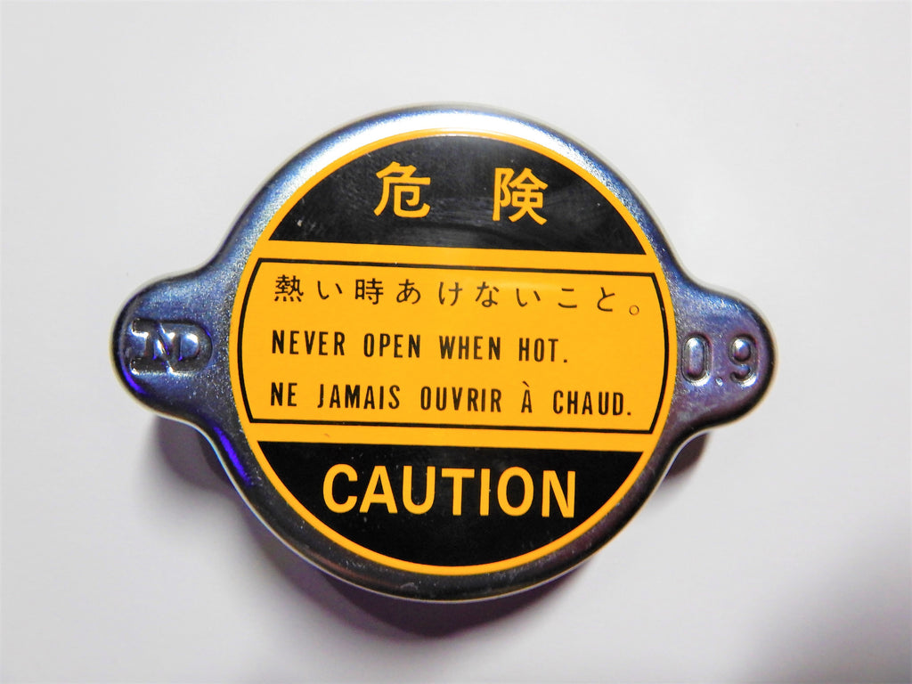 Made In JAPAN NipponDenso OEM TOYOTA Radiator Cap  FJ40,  FJ45,  FJ55  1958-4/86  F 1.5 , 2F , 3B ,    16401-60010