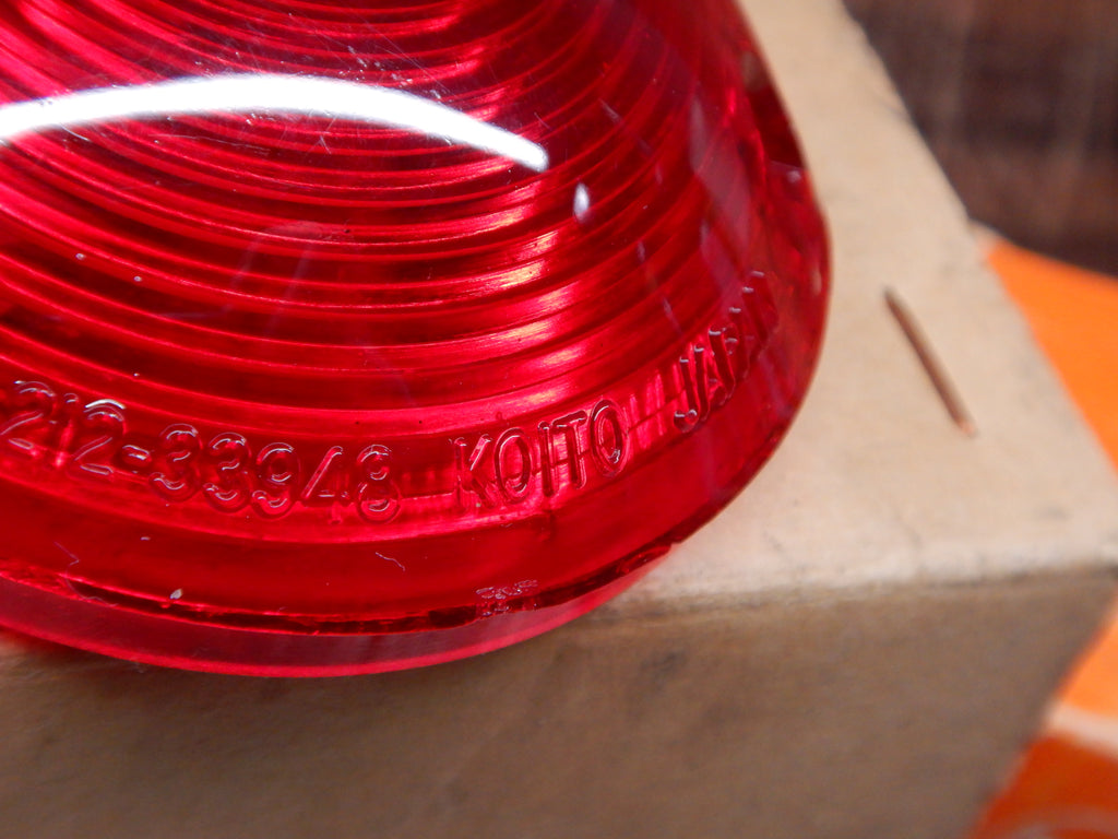 FJ25 FJ40 RED Brake Lights &  Turn Signal Lenses KOITO Made In JAPAN ( Sold in Pairs )