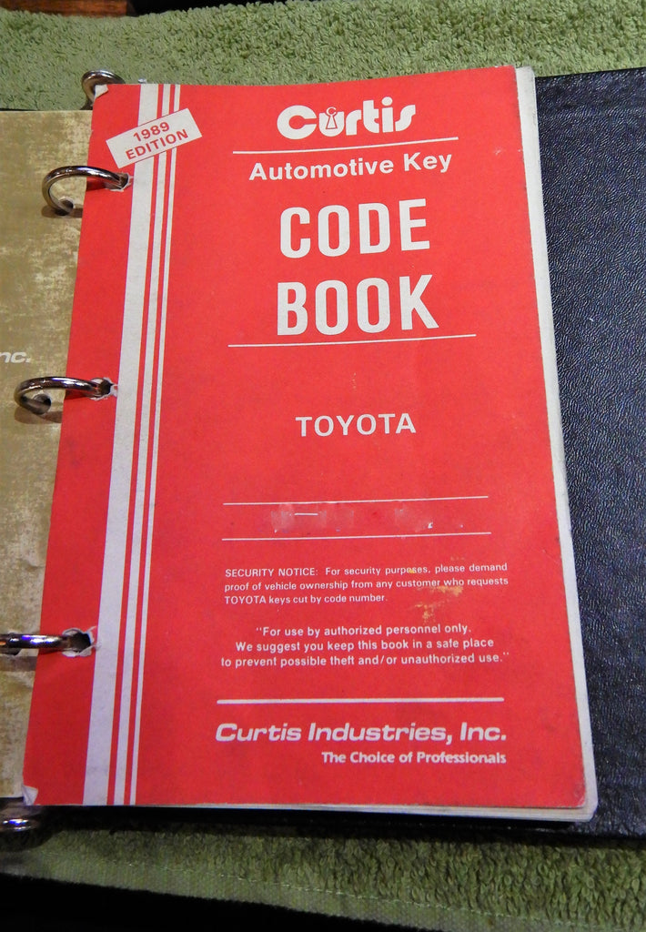 OEM TOYOTA S.S.T. Machine Factory KEY Code Cutting Service