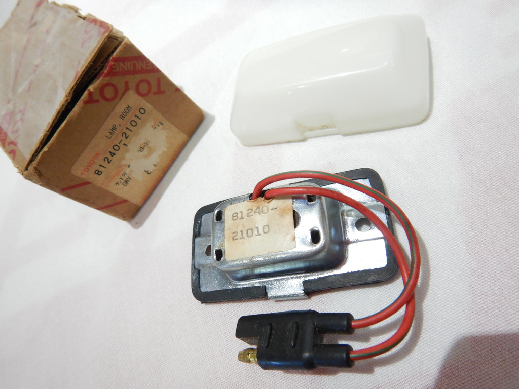 NOS OEM TOYOTA Interior Room Lamp / Courtesy Light 81240-21010 fits 3/59-9/73