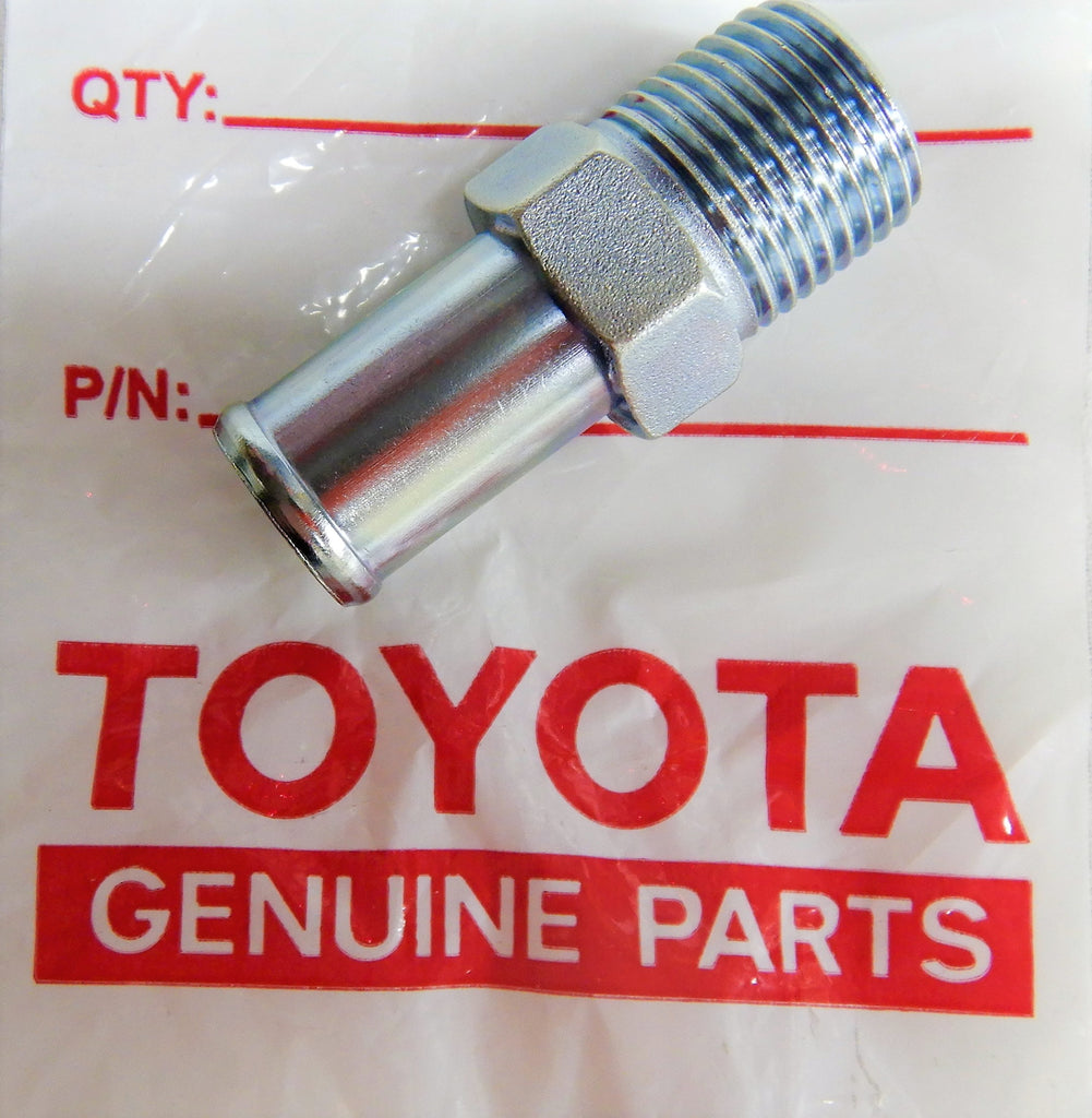 OEM TOYOTA  Cooling System Union / Joint / Fitting Cylinder Head  F 1.5 , 2F , 3B ,