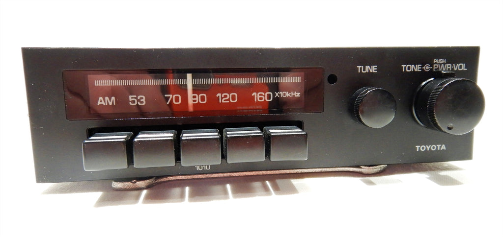 TOYOTA Radio, Model # 1010 , Bench Tested In GOOD Working Order, Cleaned & Serviced   Inside & Out