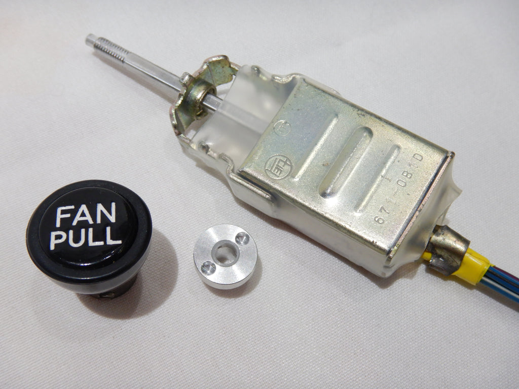 OEM FAN PULL Switch Assy. w/ KNOB & NEW OEM Pin wrench retainer Nut / Bolt   1972-12/84  FJ40, FJ55