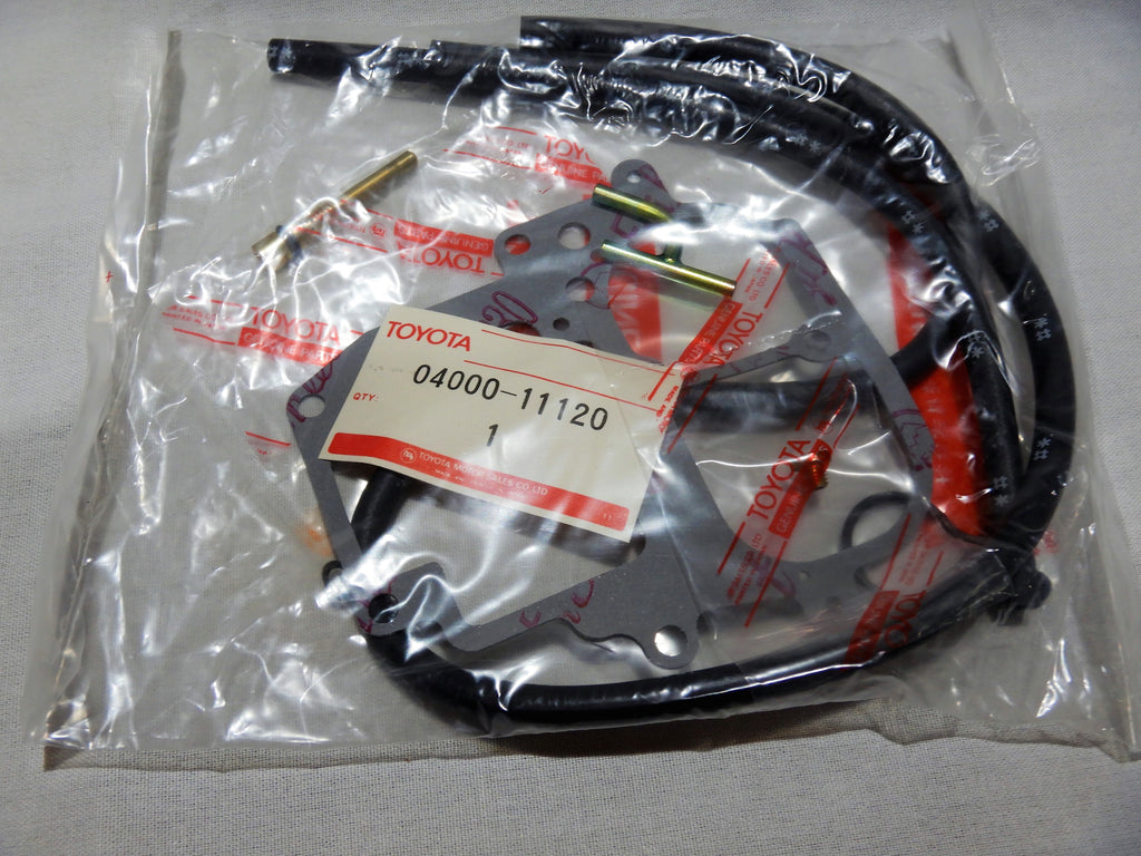 "NOS OEM  TOYOTA Genuine Parts 3mm VACUUM HOSE KIT w/ metal  Union or Y / T  Fitting 04000-11120  "" AKA Vacuum Gauge Install Kit """""