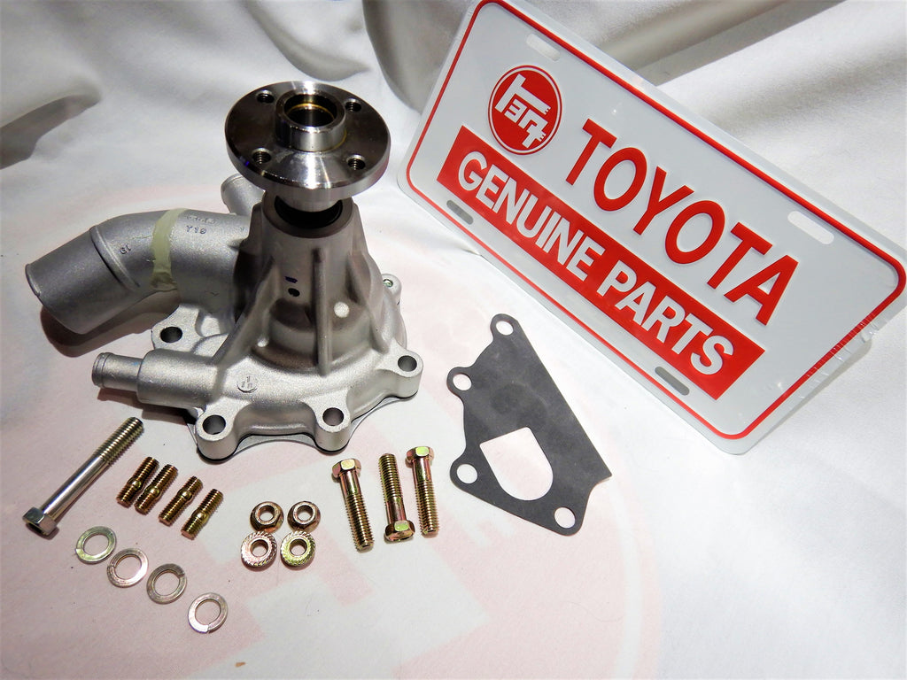 OEM TOYOTA Parts Maker GMB Water Pump KIt ALL Made in Japan ALL OEM TOYOTA Hardware Supplied    FJ40  /   FJ60       1974-1986   W/ Oil Cooler      16100-61041