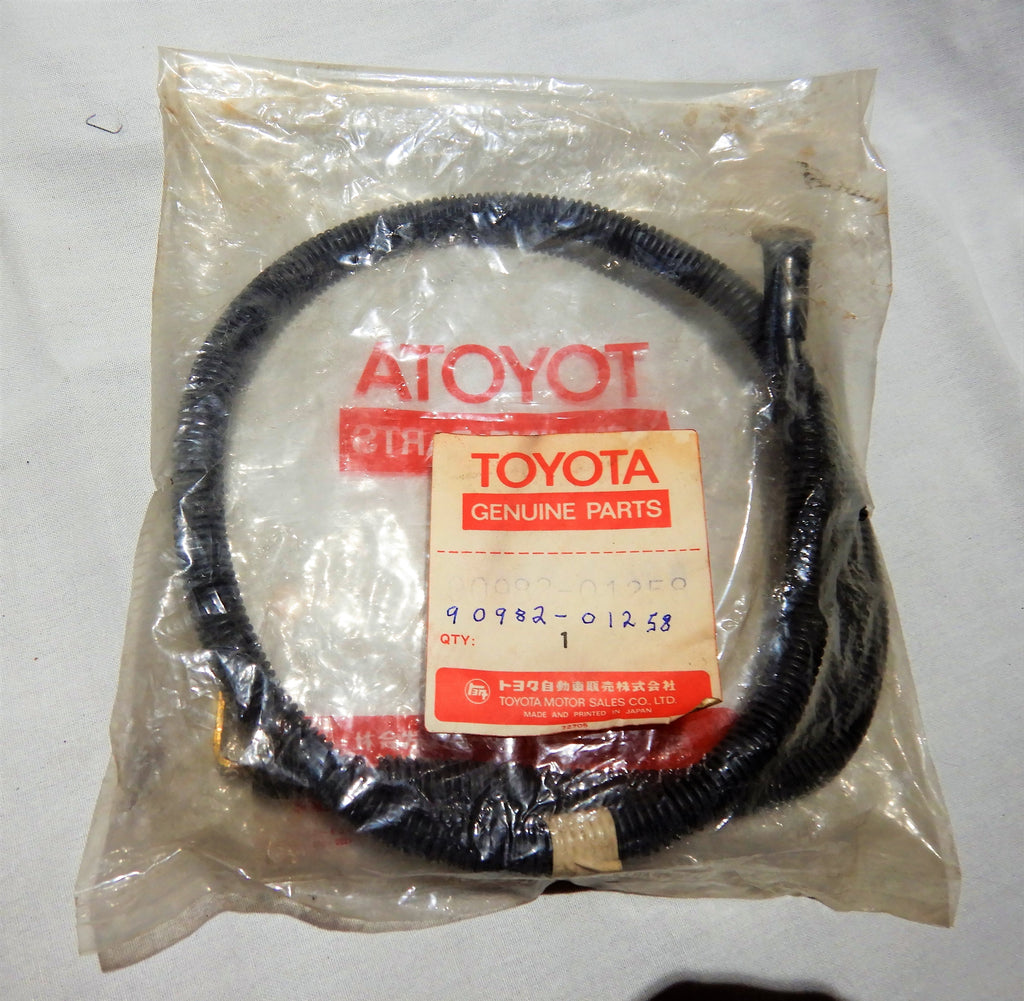 NOS OEM Toyota Battery Cable  90982-01258    Great Universal   Fit Application Fj40, FJ60, FJ55  YAZAKI