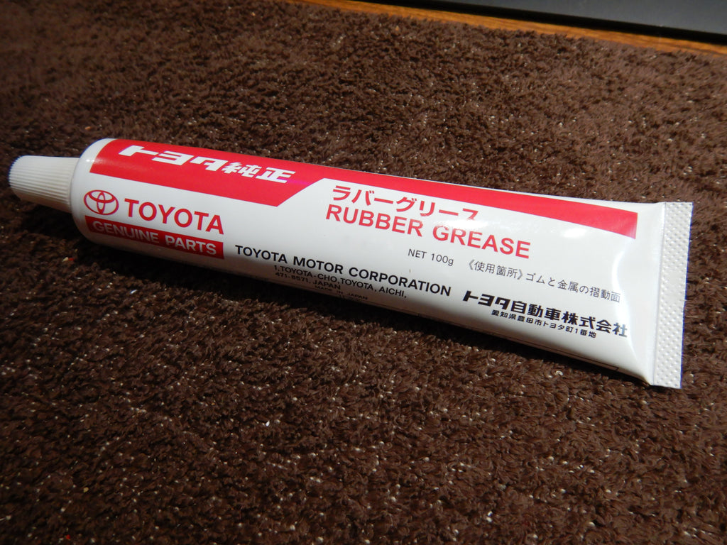 OEM Genuine TOYOTA Rubber GREASE   Lithium Soap Base