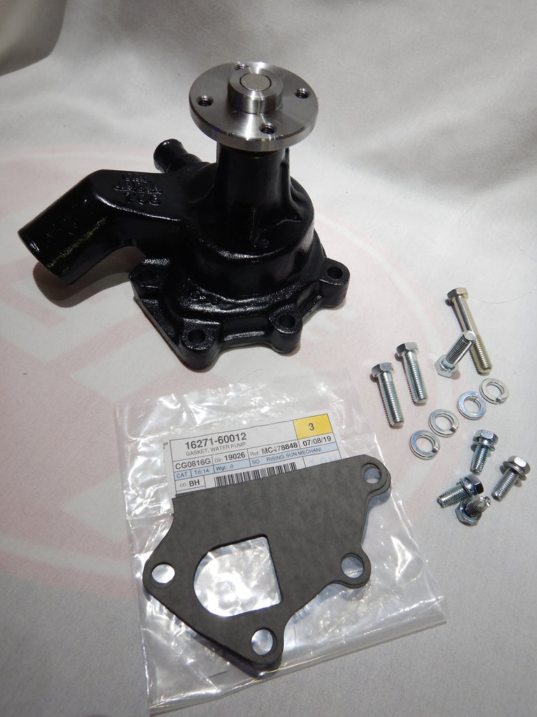 OEM TOYOTA Parts Maker Water Pump KIt ALL Made in Japan ALL OEM TOYOTA Hardware Supplied 1965-12/74     16100-60080