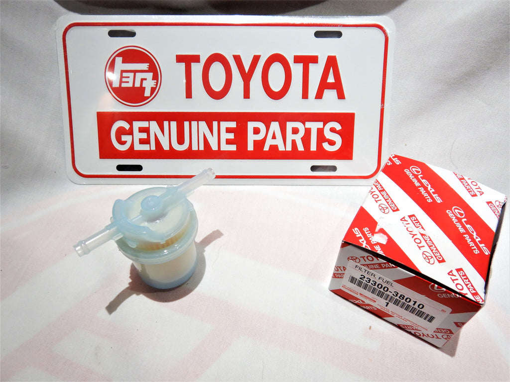 OEM TOYOTA Fuel FIlter FJ40, FJ60 , 23300-38010 ,  1/79-8/87  2F
