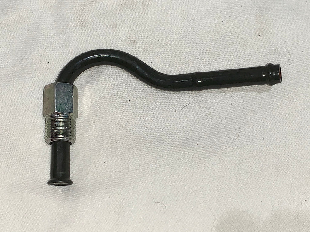 ( Larger Later Style Theaded Fitting ) NOS / New Power Steering Return Line Fitting  81-85  FJ40 / Mini truck  Call out # 44416 / Part # 44416-60021   Disc. / NLA from toyota