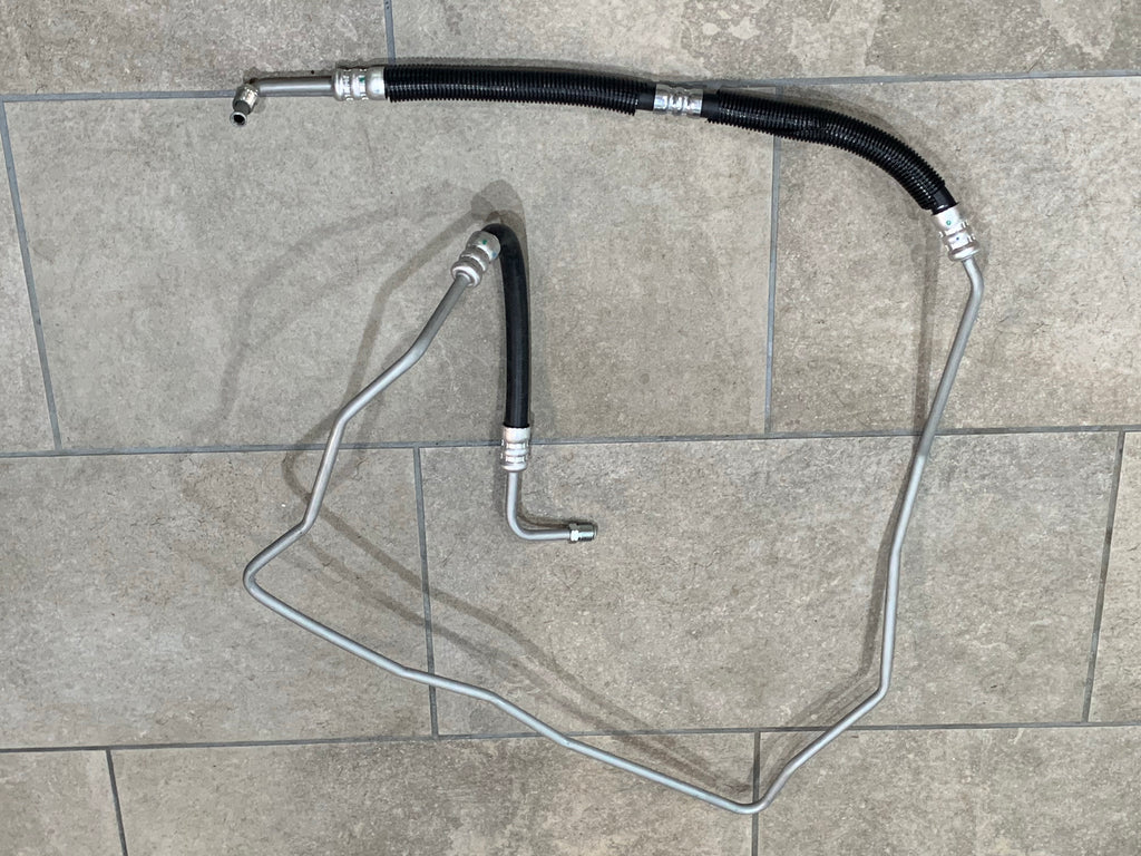 FJ62 High Pressure Power Steering Line / Hose  Fits 8/87 - 1990  FJ62 3FE  USA Spec.   Call out # 44320 /  44410-60200