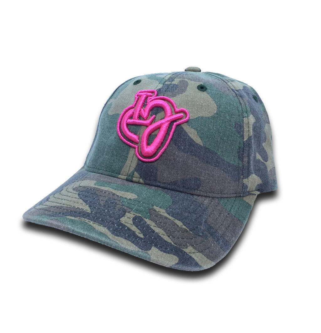 LIFESTYLE JULES VINTAGE CAMO FITTED HAT