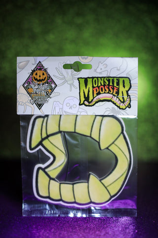 Trick or Trash Monster Posse X Love Pain and Stitches - Teeth Air freshener