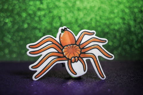 Trick or Trash Monster Posse X Love Pain and Stitches - Orange Spider freshener