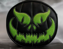 Load image into Gallery viewer, Hand Crafter: Black and Green Evil Pumpkin