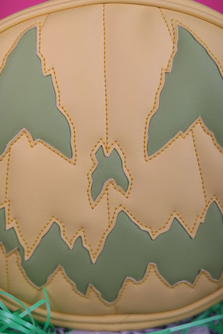 Hand Crafted : Pastel Stark Ravin Yellow and Green