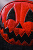 Pumpkin Kult: Red Glitter and Black Glitter Pumpkin