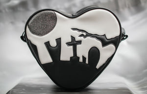 Hand Crafted : Large Graveyard Heart