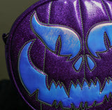Hand Crafted : Evil Face Pumpkin