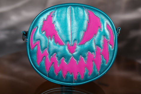 Hand Crafted: Bad Company Metallic Blue and Pink