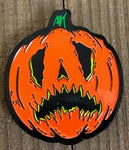 Scaredy cat pumpkin pin